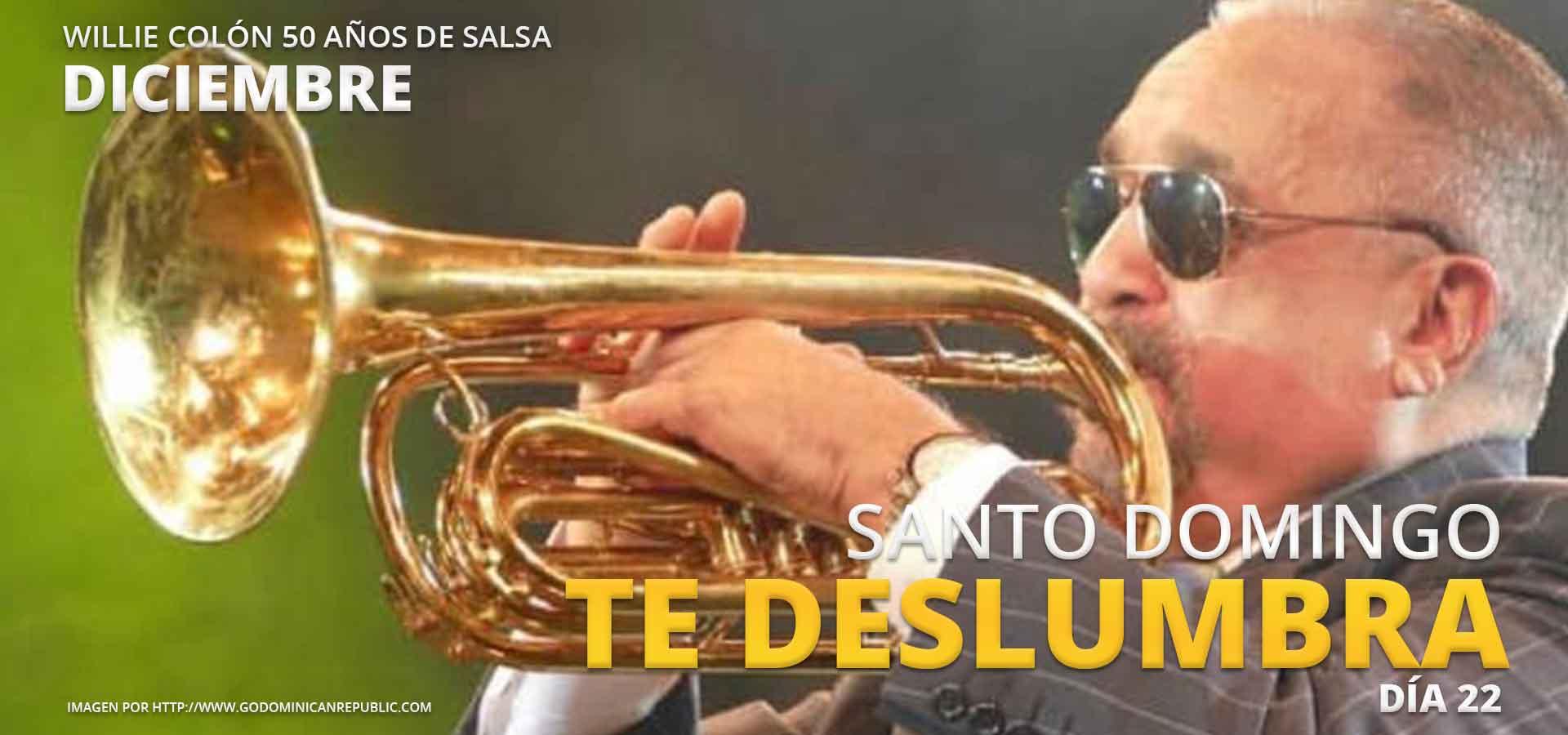 Willie Colon Salsa Santo Domingo